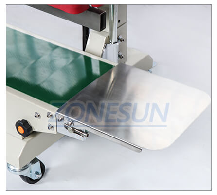 Collecting Plate of  ZS-FR1100 Bag Sealing Machine