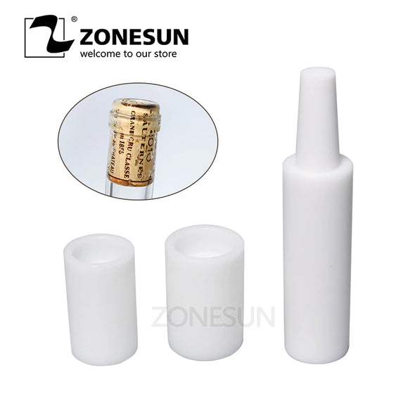 ZONESUN Manual Red Wine Brew Tamponade Device Brewed Red Wine Bottle Capping Machine Cork Into Bottle Tools Wine Stopper Pusher - ZONESUN TECHNOLOGY LIMITED