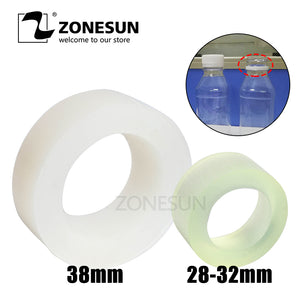 ZONESUN Capping Machine Chuck Rubber Mat for Capper 28-32mm 38mm Round Plastic Bottle With Security Ring Silicone Capping Chuck - ZONESUN TECHNOLOGY LIMITED