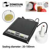 ZONESUN GLF-500F Microcomputer Hand-held Electromagnetic Induction Sealer Aluminum Foil Sealing Machine - ZONESUN TECHNOLOGY LIMITED