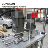 ZONESUN Automatic Electric Screw Bottle Plastic Glass Water Juice Honey Small Washing Dropper Spout Pouch Capping Machine - ZONESUN TECHNOLOGY LIMITED