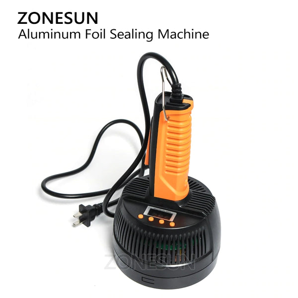 ZONESUN Hand Held Electromagnetic Induction Sealer Microcomputer Bottle Sealing Machine Aluminum Foil Medical Plastic Capper - ZONESUN TECHNOLOGY LIMITED