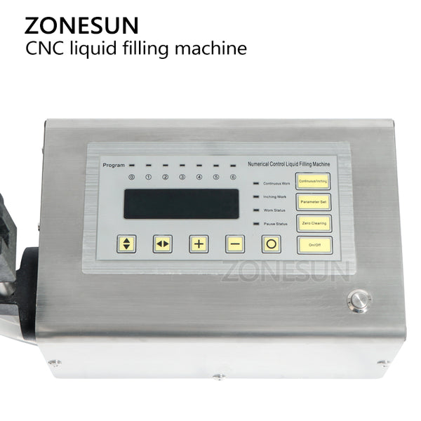 ZONESUN Electrical Liquid Filling Machine Mini Small Bottle Water Digital Pump Perfume Drink Milk Olive Oil 110V 220V Filler - ZONESUN TECHNOLOGY LIMITED