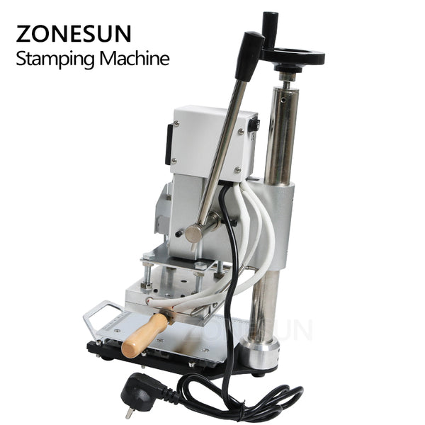 ZONESUN ZS110 slideable workbench Digital Hot Foil Stamping Machine Leather Embossing Bronzing Tool for Wood Leather PVC Paper DIY - ZONESUN TECHNOLOGY LIMITED