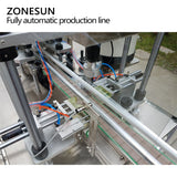 ZONESUN Automatic Desktop Electric Glass Perfume Shampoo Cosmetic Nail Polish Bottle Capping Filling Labeling Packing Machine - ZONESUN TECHNOLOGY LIMITED