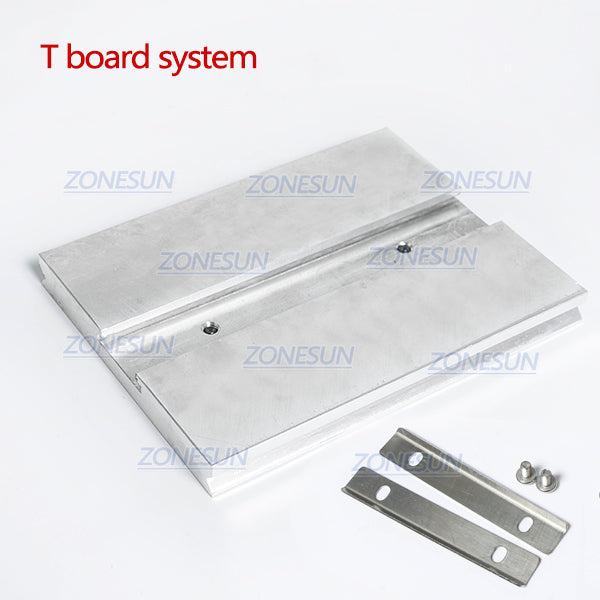 ZONESUN Hot Foil Stamping Machine Accessory Spare Parts Position Holder Foil Roll Holder T-Slot Workbench Heating Element - ZONESUN TECHNOLOGY LIMITED
