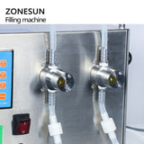 Double Nozzle Liquid Filling Machine Pump