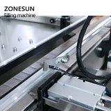 ZONESUN Ex-proof Servo Automatic Quantitative Bottle  Gasoline Kerosene Filling Machine