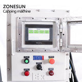 Ex-proof Capping Machine Touch Screen