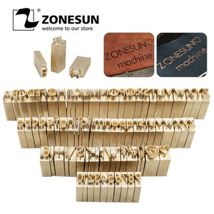 ZONESUN Metal Brass Mould Wood Leather Stamp Custom Logo Design Branding Plates Plastic Cake Bread Mold Heating Embossing Tool for ZS110 machine - ZONESUN TECHNOLOGY LIMITED