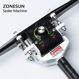 ZONESUN Hand-held Sealing Machine For Aluminium Foil Food Packging Machine - ZONESUN TECHNOLOGY LIMITED