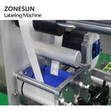 ZONESUN XL-T853 Automatic Flat Surface Cans Food Production Line Labeling Machine Label Applicator Square Bottle Sticker Labeler - ZONESUN TECHNOLOGY LIMITED