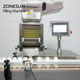 ZONESUN ZS-JF8 Gelatin Soft Oil Gelatin Pill Automatic Capsule Filling Machine - ZONESUN TECHNOLOGY LIMITED