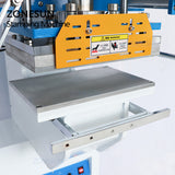 ZONESUN Pneumatic Automatic hot foil Stamping Machine, Plastic box LOGO Creasing machine,LOGO stamper,Hot words machine - ZONESUN TECHNOLOGY LIMITED