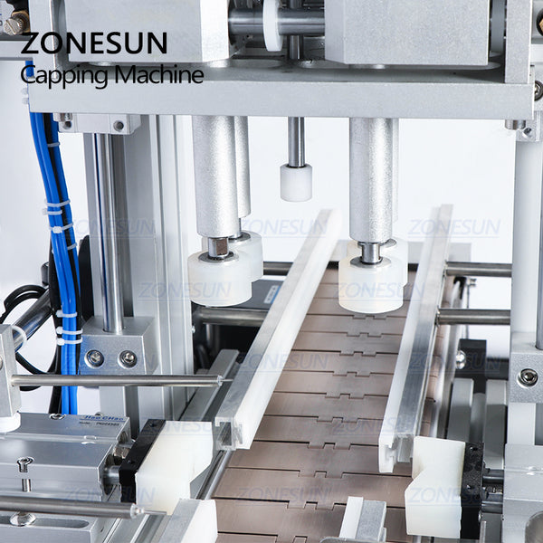 ZONESUN Automatic Desktop Bottle Capping Machine For Spray Bottles - ZONESUN TECHNOLOGY LIMITED