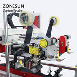 ZONESUN ZS-FK8001 Automatic Carton Sealing Machine Box Sealer Packing Machine