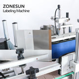 ZONESUN ZS-TB150A Tabletop Small Round Jar Bottle Label Applicator High Speed Labeling Machine