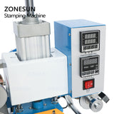 ZONESUN ZS-819A Pneumatic Stamping Machine For Leather Paper Wood - ZONESUN TECHNOLOGY LIMITED