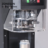 ZONESUN 55mm Beer Ring-pull Can Seaming Capping Machine - ZONESUN TECHNOLOGY LIMITED