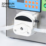 ZONESUN Peristaltic Pump Liquid Filling Machine For Gel Thick Liquid Juice Beverage Essential Oil - ZONESUN TECHNOLOGY LIMITED