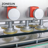 ZONESUN ZS-FAL180P5 Automatic Essential Oil Water Bottle Perfume Filling And Capping Machine For Jar
