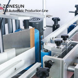 ZONESUN Juice Oil Automatic Water Drinks Plastic Round Bottle Liquid Screw Filling Capping And Labeling Machine - ZONESUN TECHNOLOGY LIMITED