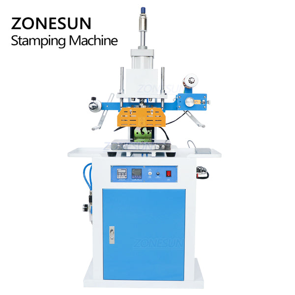 ZONESUN ZY-819C Pneumatic Stamping Machine For Custom Logo Leather Stamping - ZONESUN TECHNOLOGY LIMITED