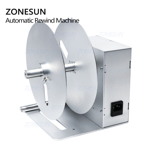ZONESUN NEW Digital Automatic Label Rewinder Clothing Tags Barcode Stickers Rewinding Machine Volume Label for Supermarket - ZONESUN TECHNOLOGY LIMITED