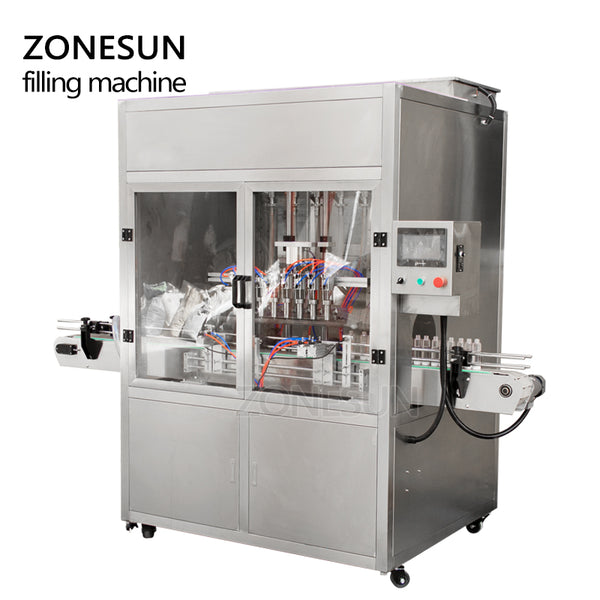 ZONESUN Automatic Pneumatic High Speed Beverage Production Line Cans Beer Drinking Water Milk Oil Filling Machine Supplier - ZONESUN TECHNOLOGY LIMITED
