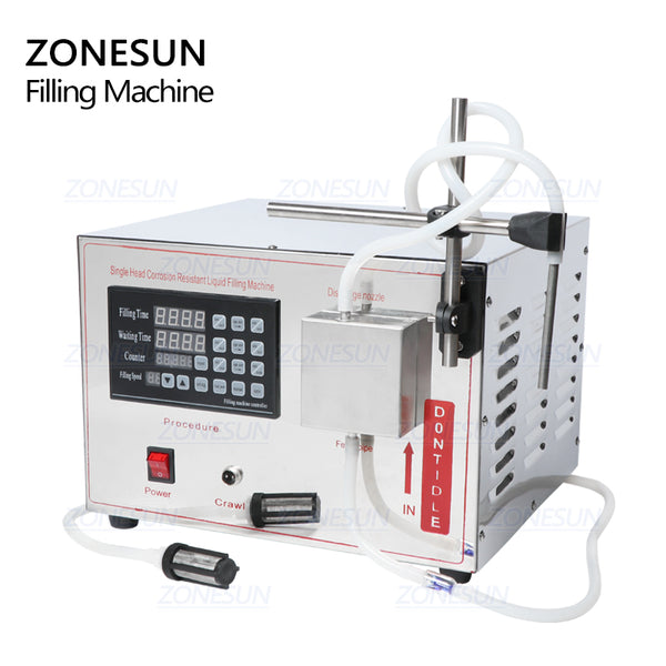 ZONESUN GZ-YG1 Automatic Magnetic Pump Filling Machine Beverage Perfume Water Juice Essential Oil Liquid Bottle Filling Machine - ZONESUN TECHNOLOGY LIMITED