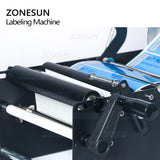 ZONESUN ZS-50W Manual Round Bottle Adhesive Sticker Label Applicator For Plastic Wine Bottle Packing Labeling Machine - ZONESUN TECHNOLOGY LIMITED
