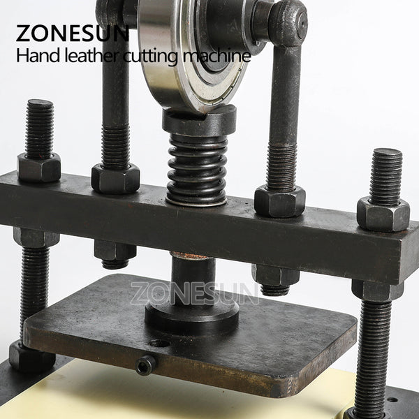 ZONESUN 22x14cm Hand leather cutting machine,photo paper,PVC/EVA sheet mold cutter,manual leather mold /Die cutting machine - ZONESUN TECHNOLOGY LIMITED