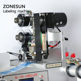 ZONESUN Automatic Plastic Tin Can Round Glass Bottle Double Side Labeling Machine - ZONESUN TECHNOLOGY LIMITED