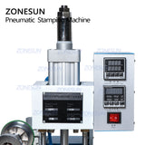 ZONESUN ZY-819-B Pneumatic Stamping Machine,leather LOGO printer,pressure words machine,name card stamping machine(220V/50Hz) - ZONESUN TECHNOLOGY LIMITED