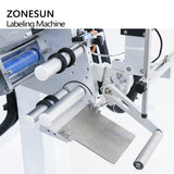 ZS-TB851 Automatic Flat Surface Square Bottle Box Packaging Bags Labeling Machine For Production Line - ZONESUN TECHNOLOGY LIMITED