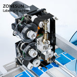 ZONESUN Labeling Machine for Transparent Sticker With Date Printer Printing Labeling Machine - ZONESUN TECHNOLOGY LIMITED