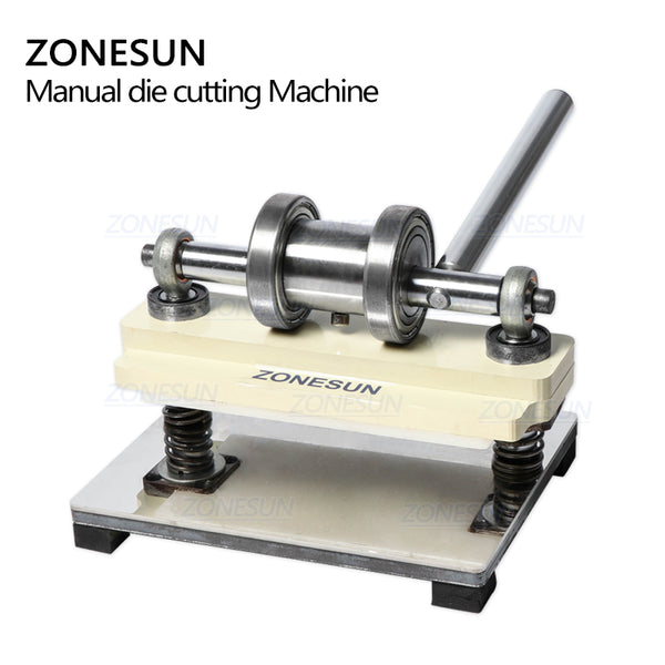 ZONESUN Manual Leather Die Cutting Machine Handmade Earring Die Cuts Pressing Machine For Custom Clicker Die Steel Rule Die - ZONESUN TECHNOLOGY LIMITED