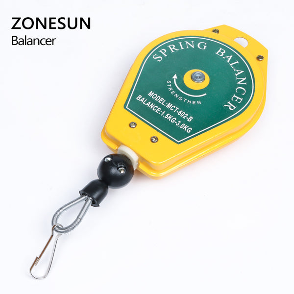 Best quality! Spring Balancer 1.5kg-3.0kg Screwdriver Hanging Tool Torque Wrench Hanger Steel Wire Rope Measuring Tool - ZONESUN TECHNOLOGY LIMITED