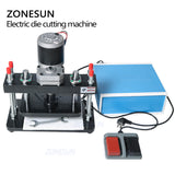 ZONESUN 26x15cm Electrical Leather Die Cutting Machine For Custom Cutting Die - ZONESUN TECHNOLOGY LIMITED