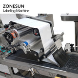 ZONESUN Automatic High Speed Flat Square Bottle Bag Adhesive Tape Packing Labeling Machine - ZONESUN TECHNOLOGY LIMITED