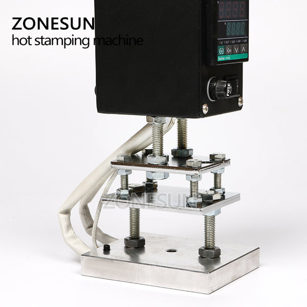 ZONESUN 5*7 8*10 10*13cm 500W Handheld leather wood paper debossing tool, hot stamping tool - ZONESUN TECHNOLOGY LIMITED