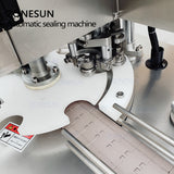 ZONESUN ZS-AFK300 110V/220V Automatic Electric Can Sealing Machine Tinplate Sealer Double Motors Plastic Cans Capping Machine - ZONESUN TECHNOLOGY LIMITED