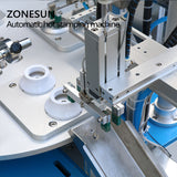 ZONESUN ZY-819S Automatic Stamping Machine leather LOGO Creasing machine LOGO stampler name card stamping machine - ZONESUN TECHNOLOGY LIMITED