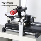 ZONESUN ZY-RM7-A Desktop Manual Pad Printer,handle pad printing machine,ink printer - ZONESUN TECHNOLOGY LIMITED