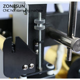ZONESUN 220V/110V Manual Hot Foil Stamping Machine Card Tipper Embossing Machine For ID PVC Cards - ZONESUN TECHNOLOGY LIMITED