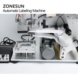 ZONESUN TB-60D Flat Labeling Machine Semi Automatic Drugs Bottle Labeling Medicine Bottle Labeling Machine With Date Coding - ZONESUN TECHNOLOGY LIMITED
