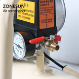 ZONESUN ZS-AC50L Portable Industrial Factory Silent Air Compressor Machine - ZONESUN TECHNOLOGY LIMITED