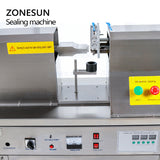 ZONESUN QDFM-125 Semi Automatic Hand Cream Toothpaste Plastic Tube Ultrasonic Soft Tube Sealing Machine - ZONESUN TECHNOLOGY LIMITED