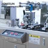ZONESUN DDP-A Flat AI/PI Automatic Blister Packaging Machine For Capsule Pill Tablet Sealing Machine - ZONESUN TECHNOLOGY LIMITED