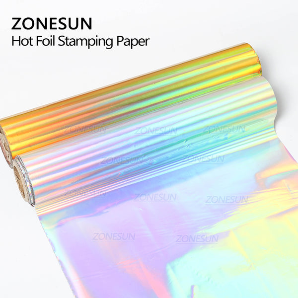 ZONESUN Hot foil Stamping Paper Leather Fabric PU Glitter Decorative Artificial Metal Leather for Sewing Material Leather Skin - ZONESUN TECHNOLOGY LIMITED